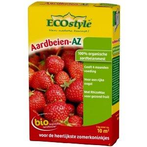 ECOstyle Aardbeien AZ 1kg natuurlijke meststof NKP 7-3-10 voor zacht fruit