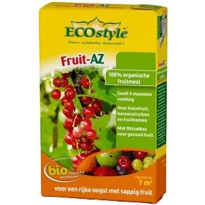 ECOstyle Fruit AZ 1kg natuurlijke meststof NPK 7-3-10 voor alle soorten fruit