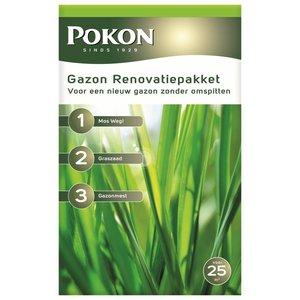 Pokon Gazon Renovatie Pakket 1750gr voor 25m3