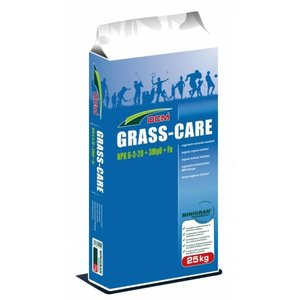DCM Grass-care 6-3-20+3+Fe 25 kg