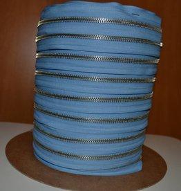 K546 Rits op rol: azuurblauw
