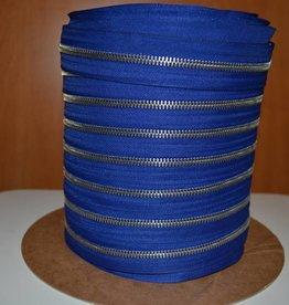 K220 Rits op rol: indigoblauw