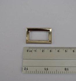 R35 ring rechthoekig zilver 25mm