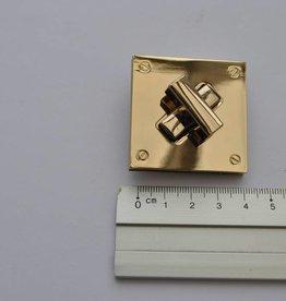 PFT 0258 ORCH TW24 Vierkante draaisluiting goud