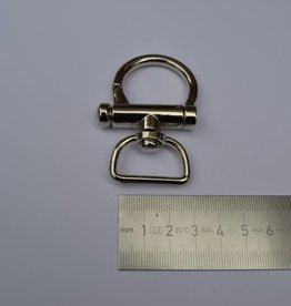 VA 00003-L NK+P SC67 Musketonhaak zilver 25mm