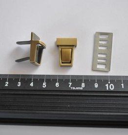 93014OPC-OTVE TUC 12  Tuc-sluiting klein brons