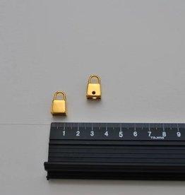 TIR 288/S ORO+PR T11 puller voor aan ritsslider goud