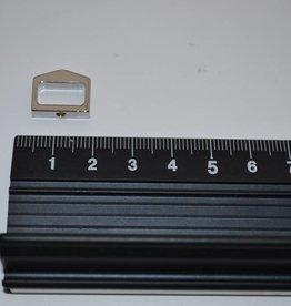 PA7 Passant zilver riem 10mm