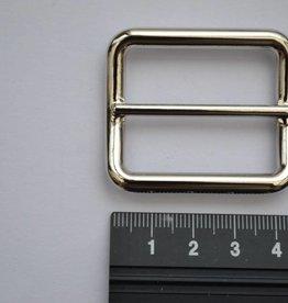 S12 Schuifgesp zilver 35mm