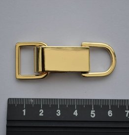 SC86 SET musketon+ring 15mm goud