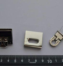 F 9 Sluiting  zilver