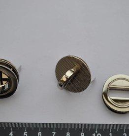 TW36 Draaisluiting rond zilver