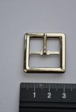 Gesp 20mm zilver
