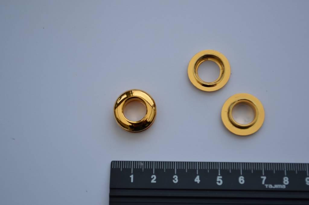 Oog goud 10mm