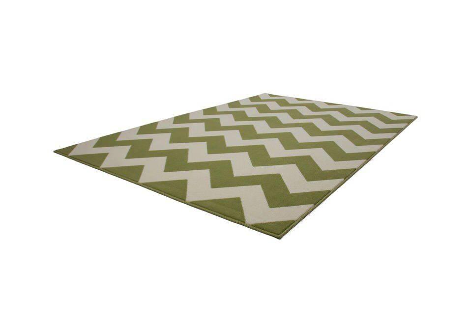 woonkamer Kayoom Manolya Vloerkleed 80x150 Groen