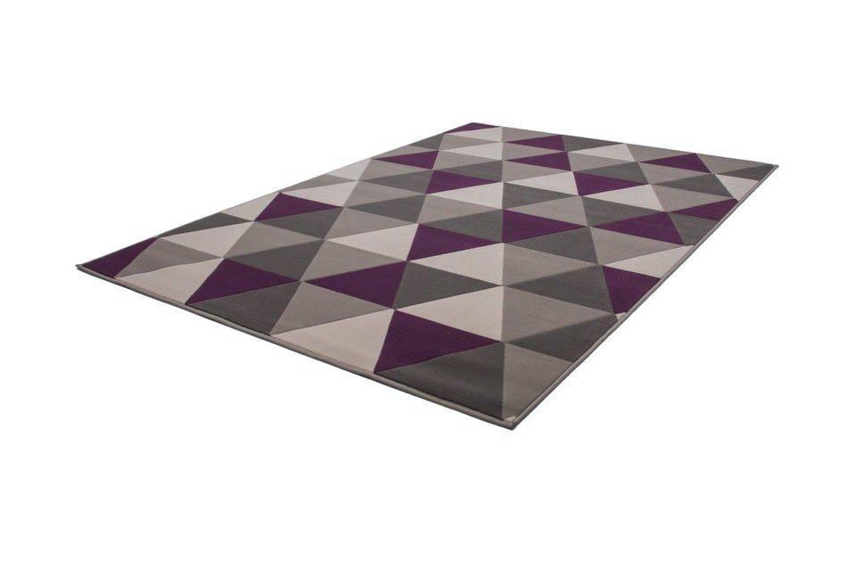 woonkamer Kayoom Now Vloerkleed 120x170 Violet