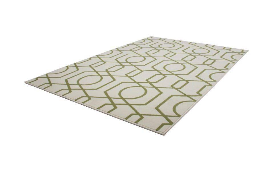 woonkamer Kayoom Now Vloerkleed 160x230 Groen