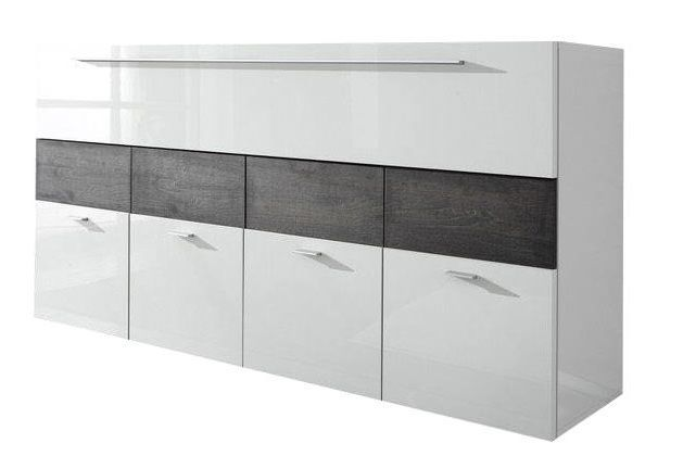 woonkamer Benvenuto Design Line Dressoir HG Wit Wenge