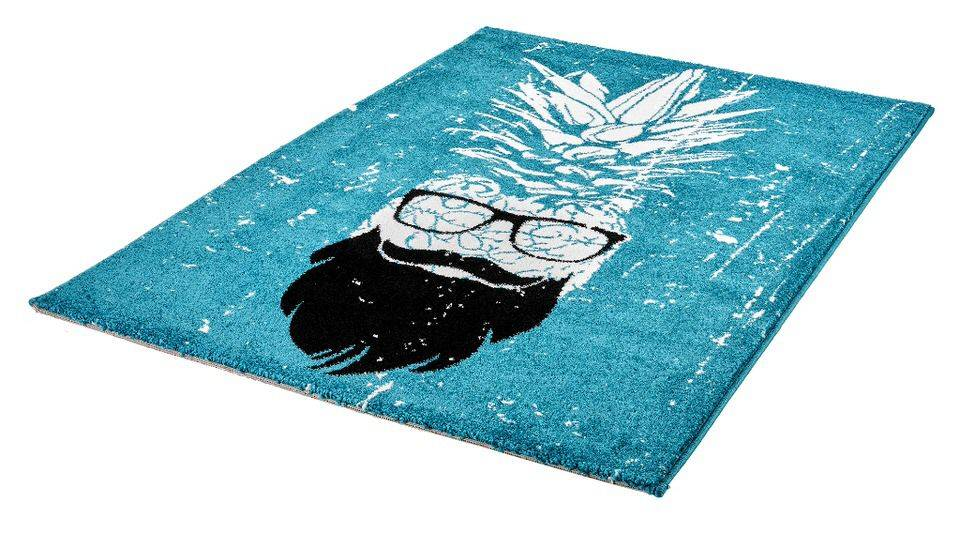woonkamer Obsession Hipster Vloerkleed 120x170 Turquoise
