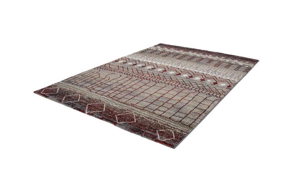 woonkamer Kayoom Tunis Vloerkleed 200x290 Rood 200