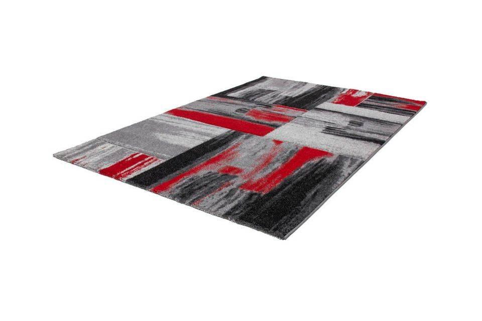 woonkamer Kayoom Swing Vloerkleed 120x170 Rood