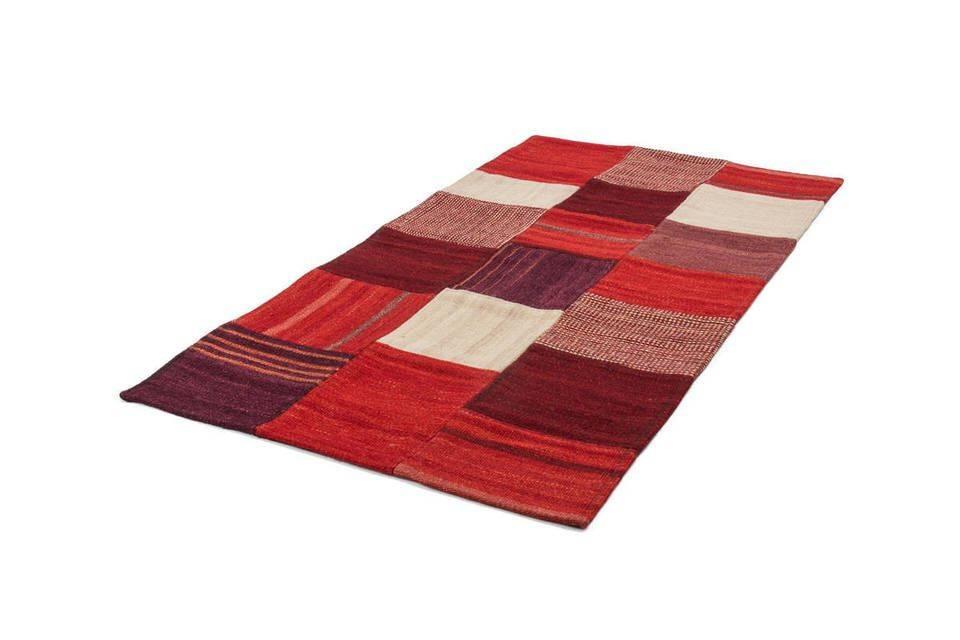 woonkamer Kayoom Radical Vloerkleed 160x230 Rood