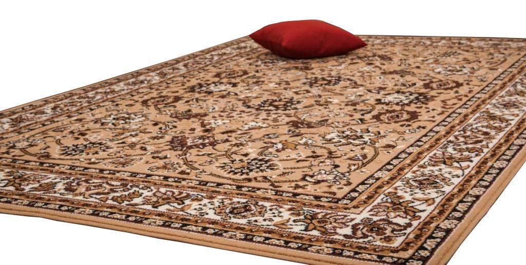 woonkamer Lalee Sahara Vloerkleed 120x170 Beige 117