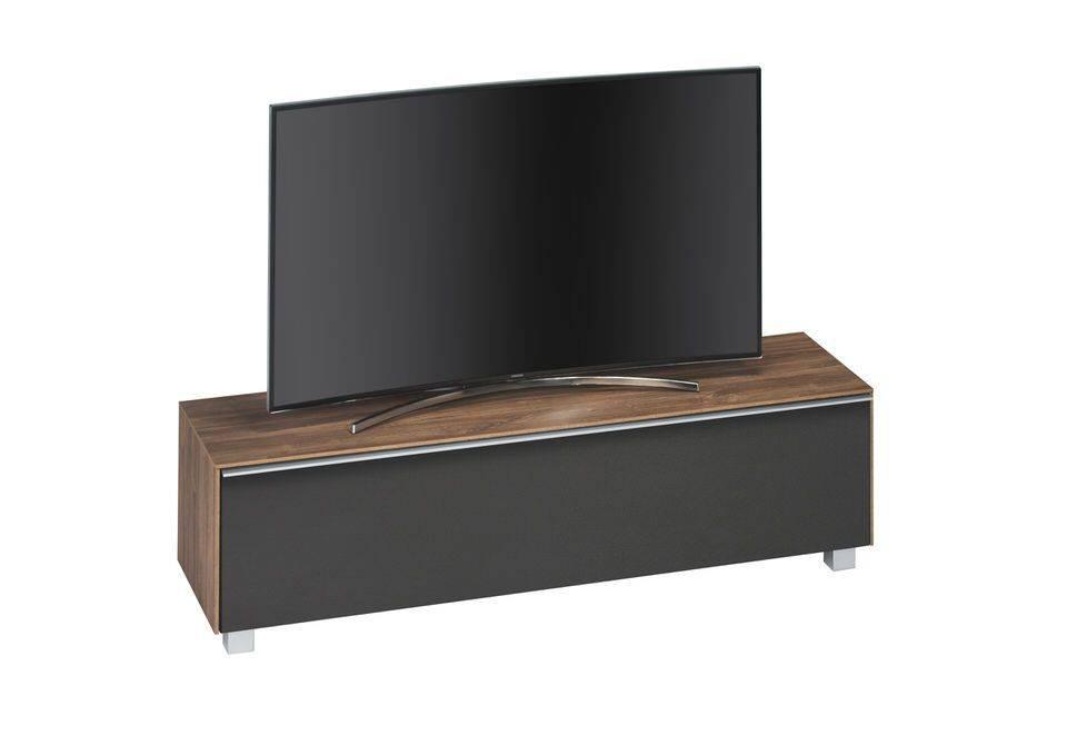 woonkamer Maja Moebel Almond TV meubel Walnoot Zwart