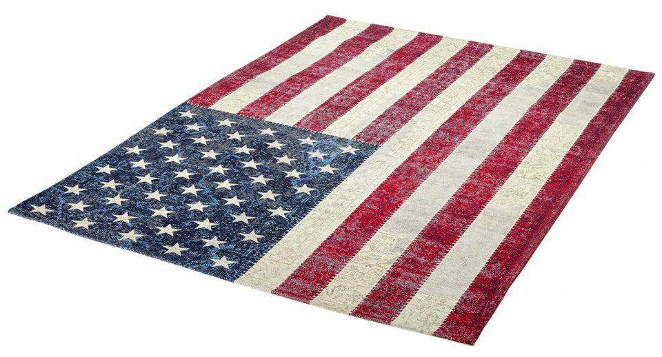 woonkamer Obsession Flags Vloerkleed 160x230 USA