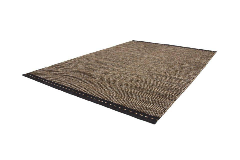 woonkamer Obsession Jaipur Wollen Vloerkleed 120x170 Bruin