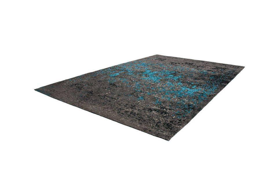 woonkamer Kayoom Cocoon Vloerkleed 80x150 Blauw 991