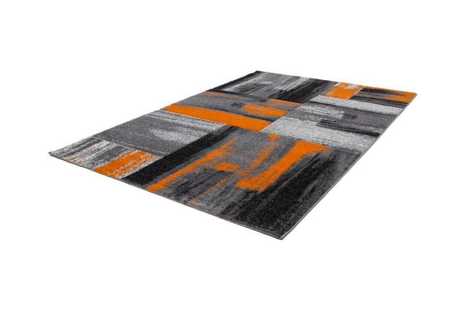 woonkamer Kayoom Swing Vloerkleed 200x290 Oranje