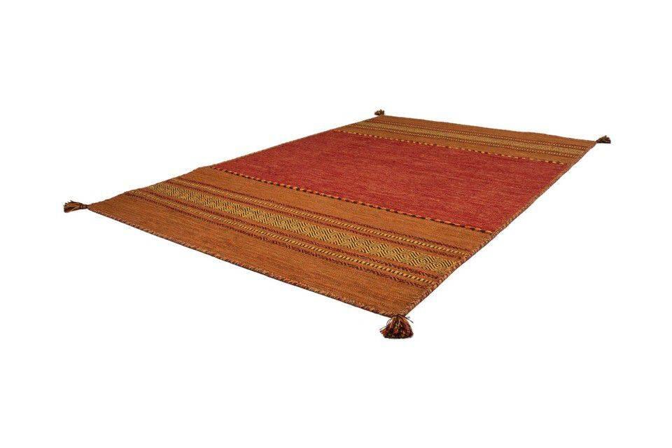 woonkamer Kayoom Alhambra Vloerkleed 80x150 Terra