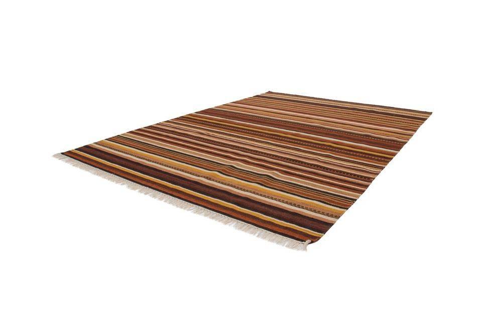woonkamer Obsession Kilim Vloerkleed Bruin 160x230