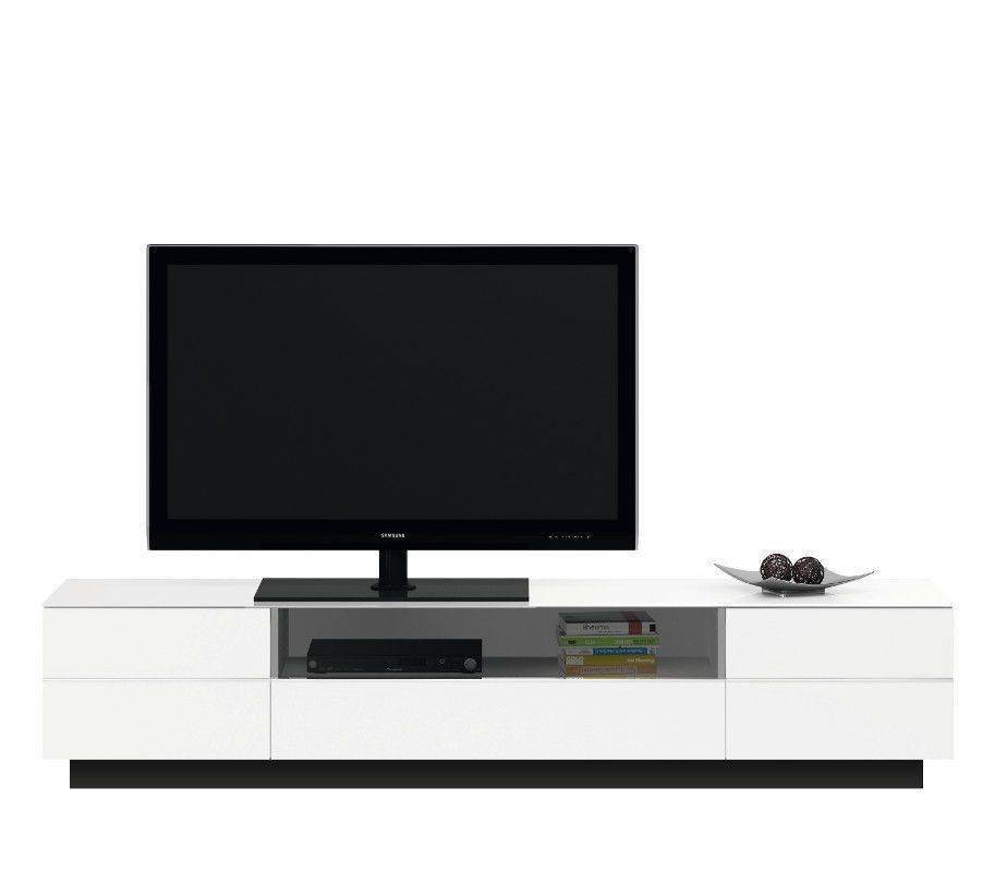 woonkamer Jahnke Moebel TL 6202 TV meubel HG Wit
