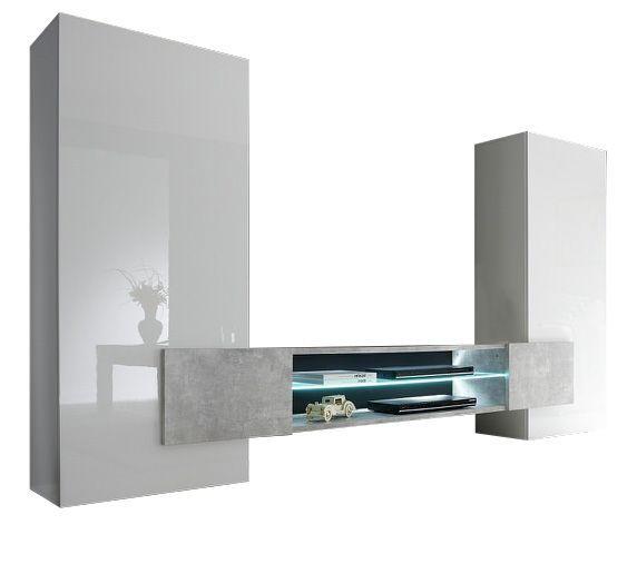 woonkamer Benvenuto Design Incastro TV meubel Beton