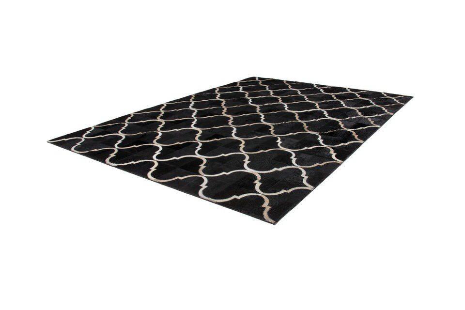 woonkamer Kayoom Lavish Vloerkleed 160x230 Zwart