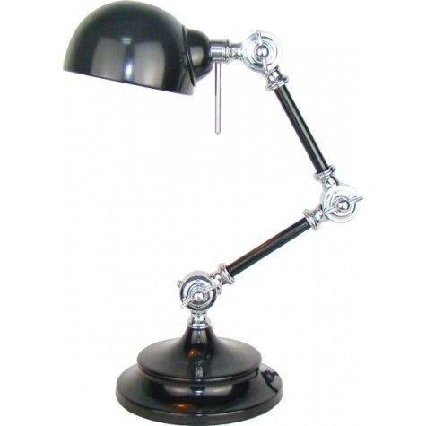 Davidi Design Willmore  bureaulamp goedkoop Zwart