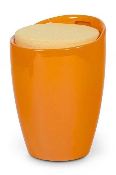 woonkamer Bondy Living Sevilla Hocker Oranje