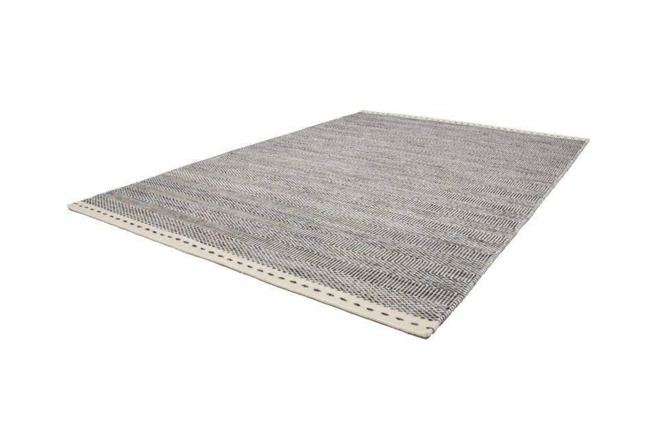 woonkamer Obsession Jaipur Wollen Vloerkleed 120x170 Grijs