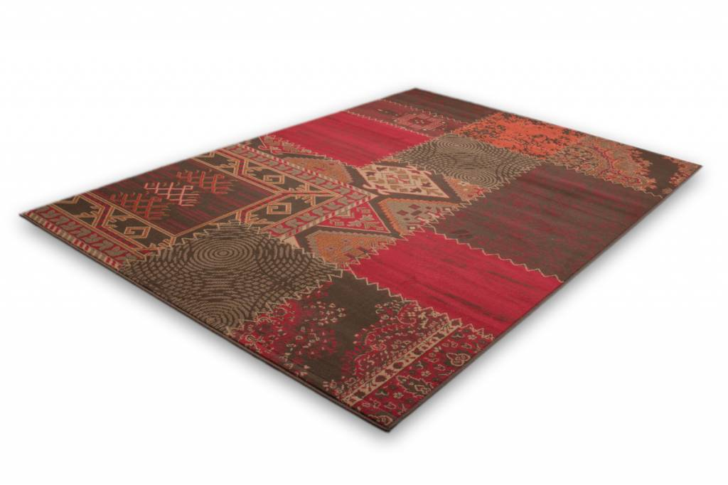 woonkamer Lalee Contempo Vloerkleed 120x170 Rood 139