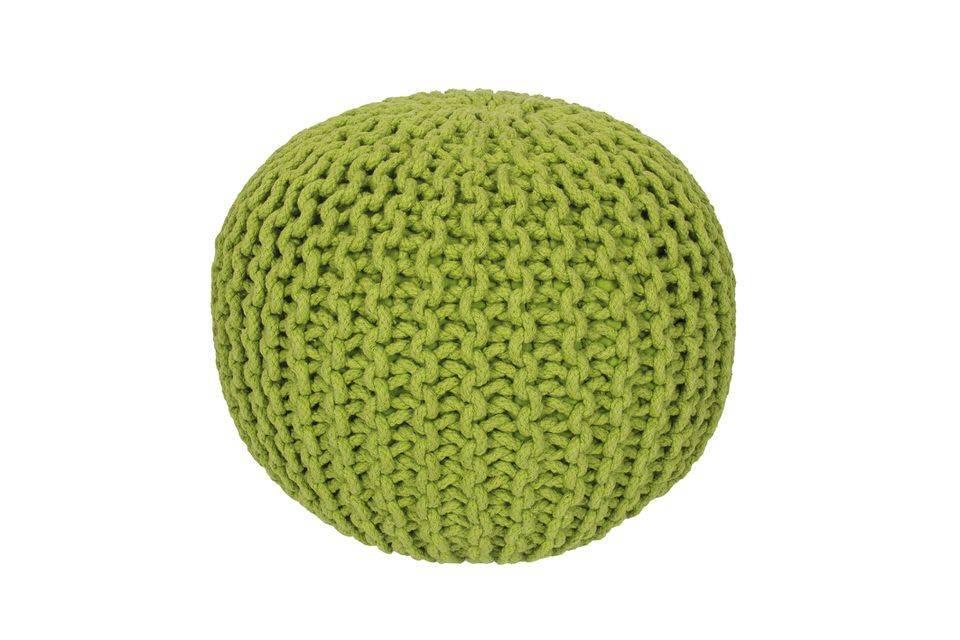 woonkamer Obsession Cool Poef Apple Groen