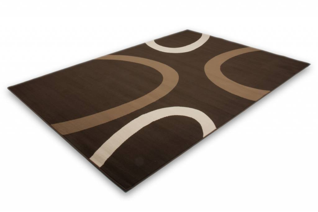 woonkamer Lalee Contempo Vloerkleed 160x230 Coffee 659