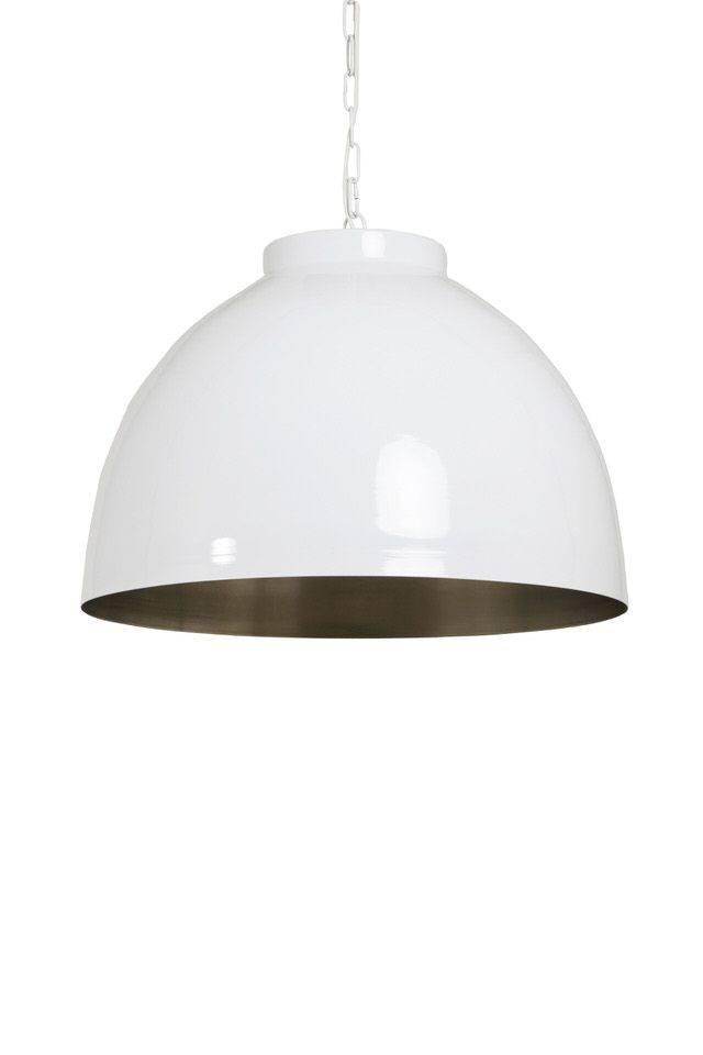 Davidi Design Kylie goedkope hanglamp Wit Nikkel Large