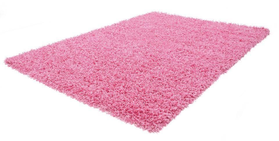 Obsession Funky effen slaapkamer vloerkleed 80x150 Roze