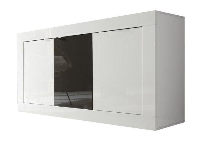 woonkamer Benvenuto Design Modena Dressoir Small HG Wit Antraciet