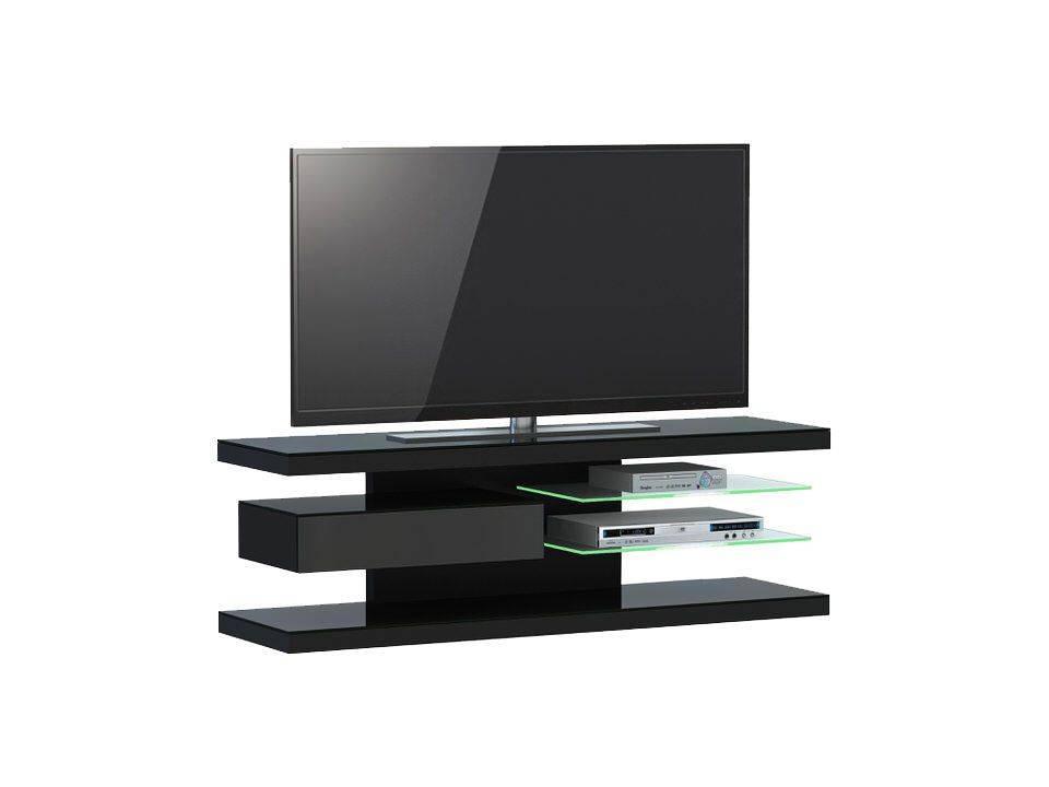 woonkamer Jahnke Moebel TV meubel SL 660 LED Zwart