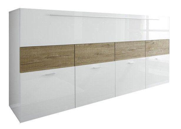 woonkamer Benvenuto Design Line Dressoir HG Wit Eiken
