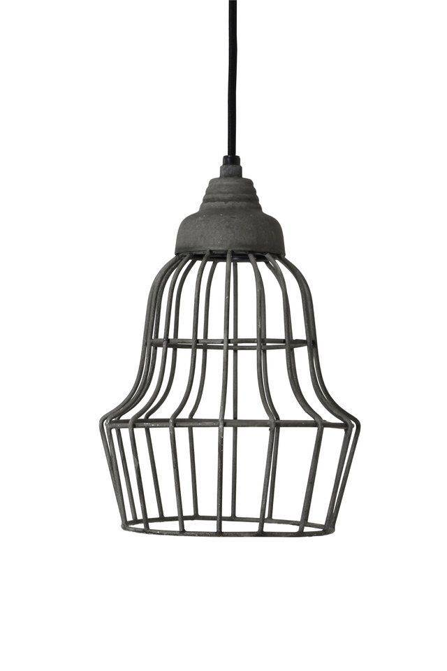 Davidi Design Birke goedkope hanglamp Grijs