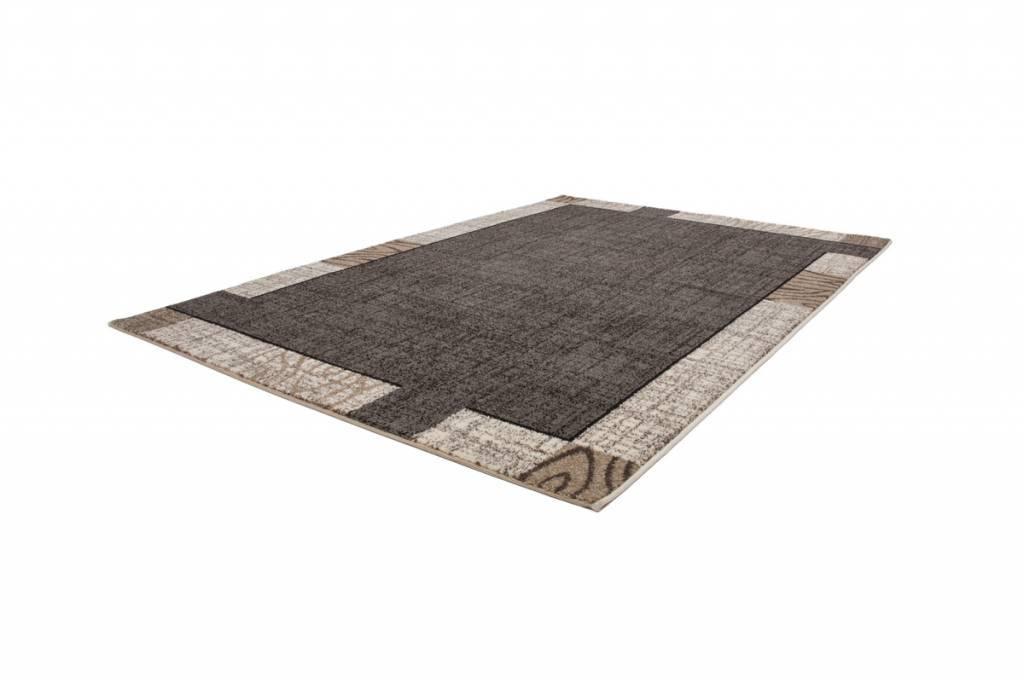 woonkamer Lalee Modern Vloerkleed 120x170 Zilver 103